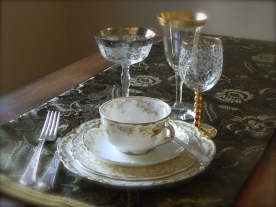 Vintage Crystal and China