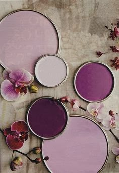 radiant orchid paint