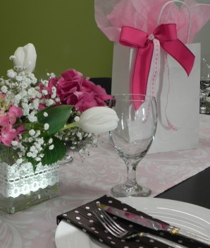 cropped vase present